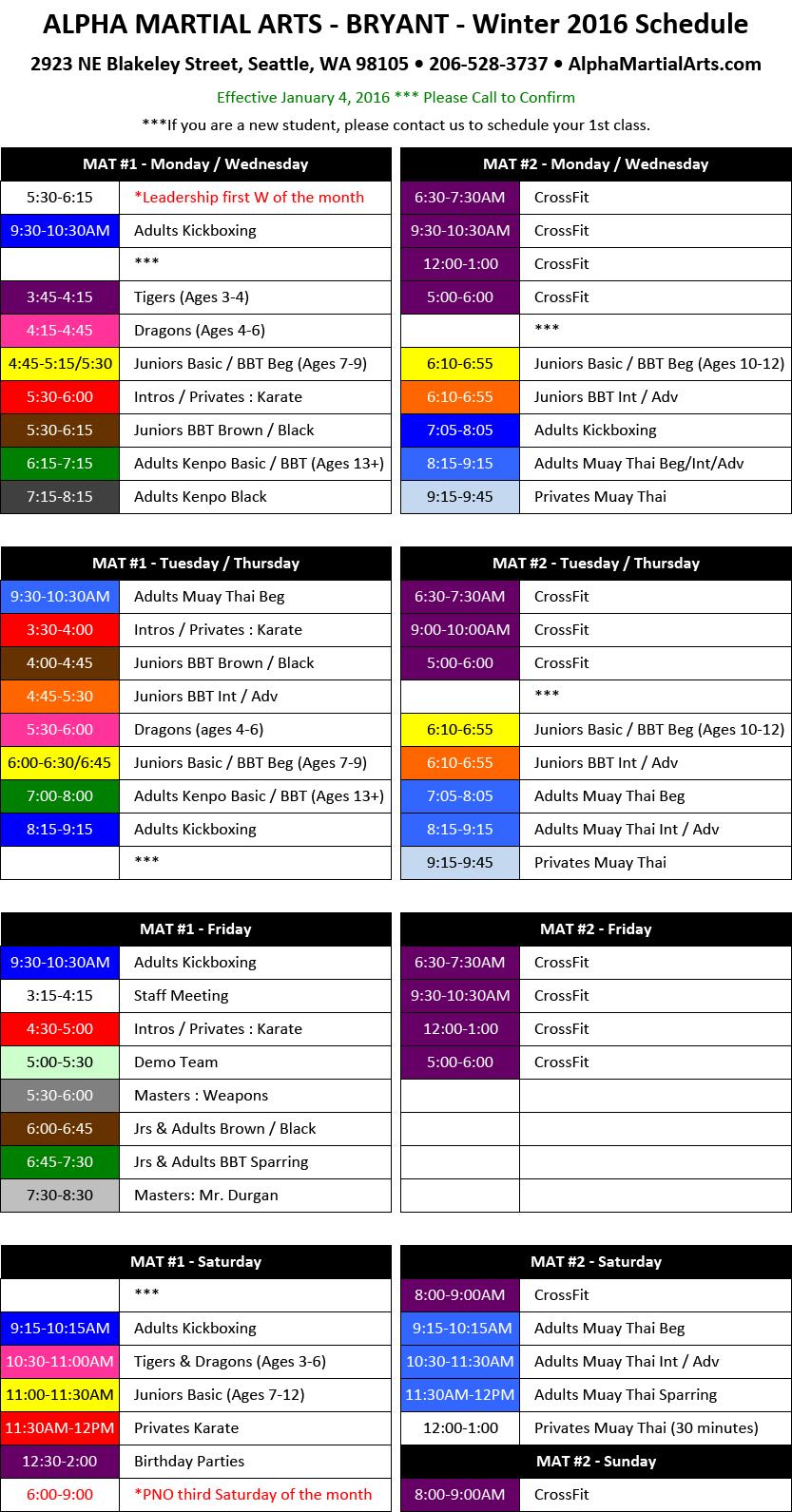 bryant-schedule-010416